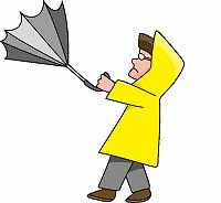 台風の暴風警報の基準