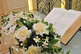 結婚式の招待状に返信1